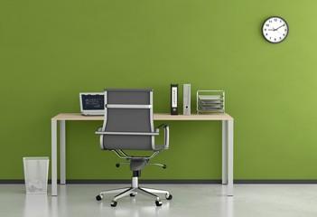 Homeoffice - Grüne Wand