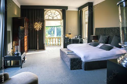 Leinwanddruck Bild luxury hotel  room