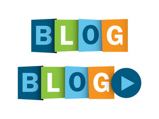 """BLOG"" buttons (news online website web internet news like)"