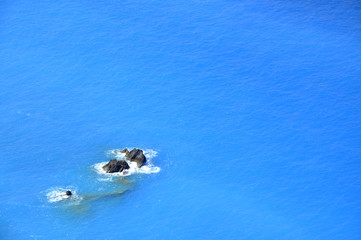 Lefkada color of the sea