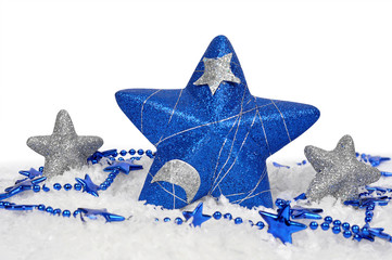 christmas decorations in the shape stars
