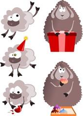Новогодние овцы