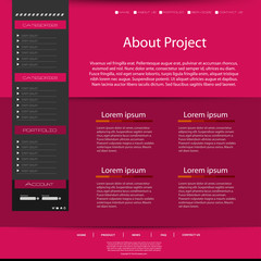 Modern Website Template, easy all editable