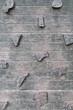 canvas print picture - Kletterwand aus Holz