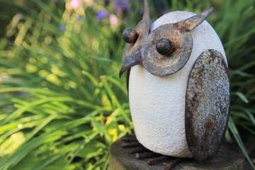 Abstrakte Gartendeko