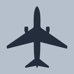 Vector Single Plane Silhouette
