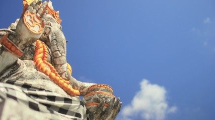 Ganesha the Hindu Deity (Cloud Time Lapse)