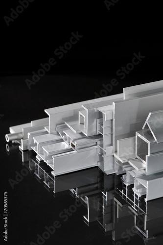 canvas print picture Aluminium-Profilleisten