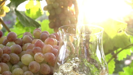 Grape Juice and Sun