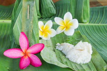 Thai dessert from nature