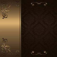 Decorative vintage background