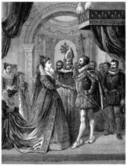 France - Royal Wedding : Henri IV & Maria di Medici - year 1600