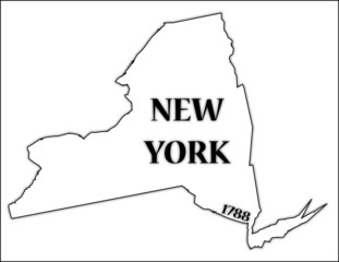 New York State and Date