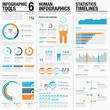 Creative infographic vector tools 6 for data visualization