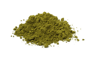 Heap of henna powder