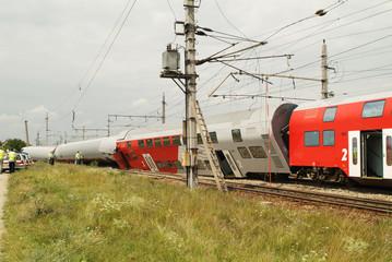 Austria, train accident