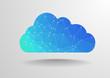 Zdjęcia na płótnie, fototapety, obrazy : Polygon cloud