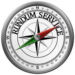 Kompass rundum serice