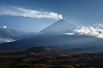 Kliuchevskoi Volcano - highest mountain on Kamchatka