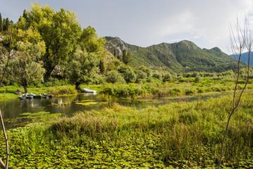 Landscape - River and Hills