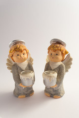 beautiful ceramic angels