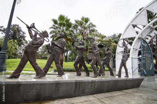 Foto op Canvas Artistiek mon. Louis Armstrong Park Congo Square