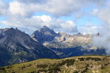 Hochvogel von Norden aus - Allgäuer Alpen