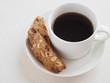 ビスコッティとコーヒー