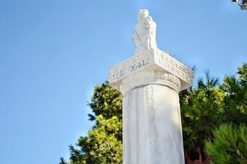 Statua della Madonna di Bonaria a Cagliari