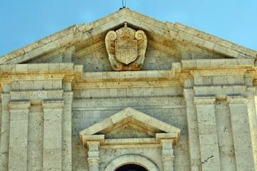 Facciata del Santuario di Bonaria a Cagliari