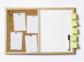 Blank Pinboard