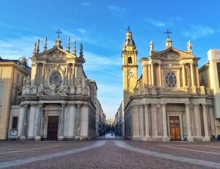 le chiese gemelle di piazza San Carlo a Torino