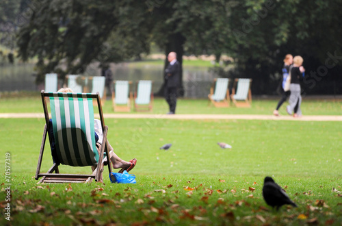 Relaxen im Hyde Park London - 70577319