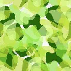 Tree In Green Pattern