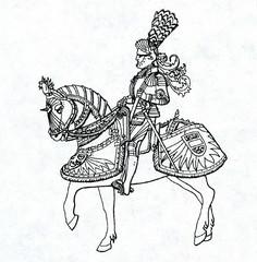 Emperor Maximilian I in his armour