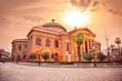 Teatro Massimo, opera house in Palermo. Sicily.