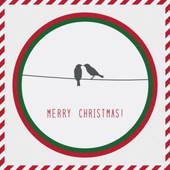 Merry Christmas greeting card2