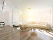 Leinwanddruck Bild - Wohnzimmer im Sonnenschein