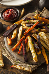 Oven Baked Vegetable Fries