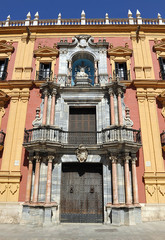Palacio Episcopal, Málaga, Andalucía, España