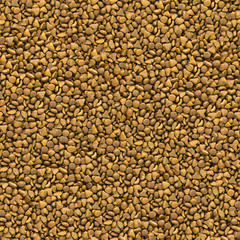 Mix of Pet Food. Seamless Texture.