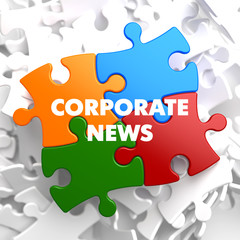 Corporate  News on Multicolor Puzzle.