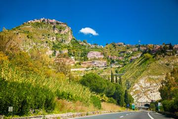 Castelmola and surroundings of Taormina