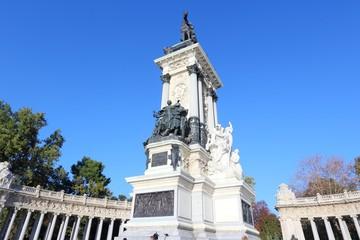 Madrid, Spain - Alberto XII memorial