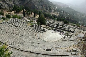 Amphitheatre at Ancient Delphi
