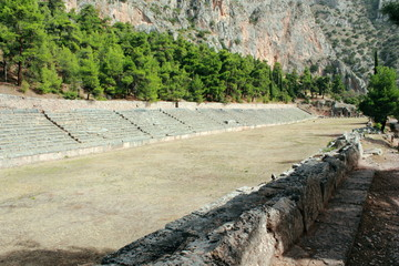 Stadium at Ancient Delphi