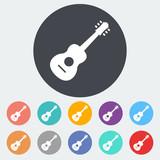 Fototapety Guitar icon