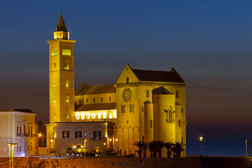 Cathedral of Trani.Puglia, Italy.