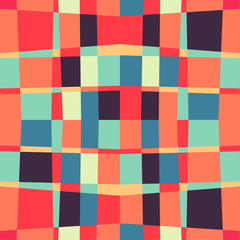 Seamless geometric color  pattern background