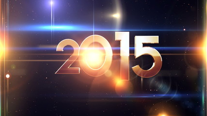 2015 Text celebrate abstract background